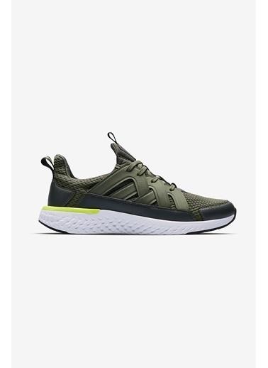 Lescon Hellium Spike Haki Erkek Koşu Ayakkabı Yeşil